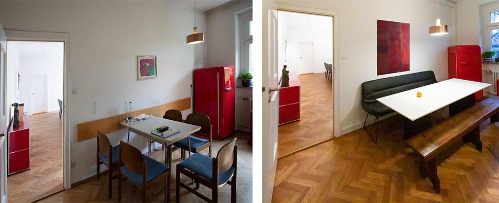 Raumgestaltungen München | Lore Wellmeyer - Vorher / Nachher
